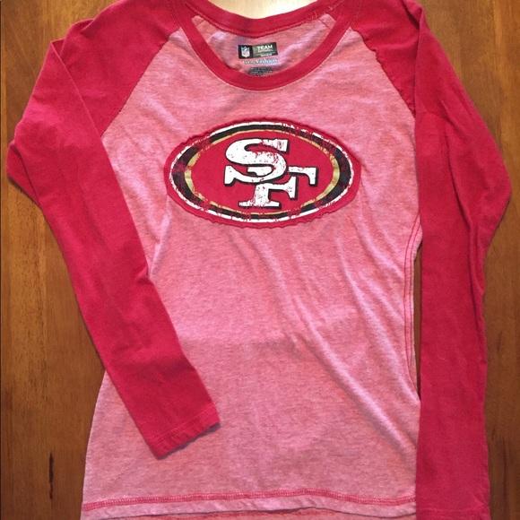 5128a402c cute GUC San Francisco 49ers tee size Medium. M 5b0ab26d2ab8c540690837bb